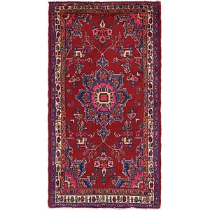 Unique Loom 3' 4 x 6' 4 Mehraban Persian Rug