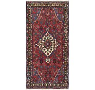 Link to 3' 6 x 7' 4 Hossainabad Persian Runner Rug
