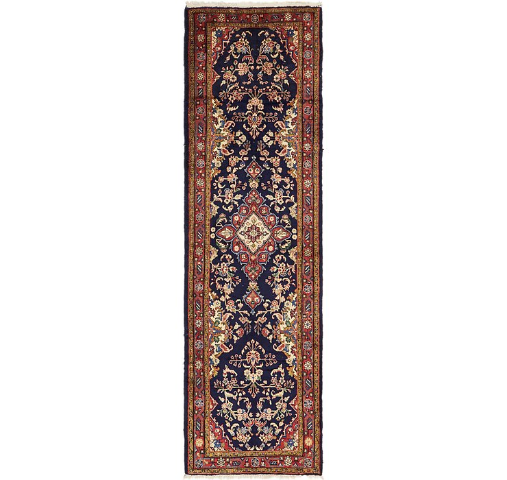 3' 5 x 12' 4 Borchelu Persian Runner...