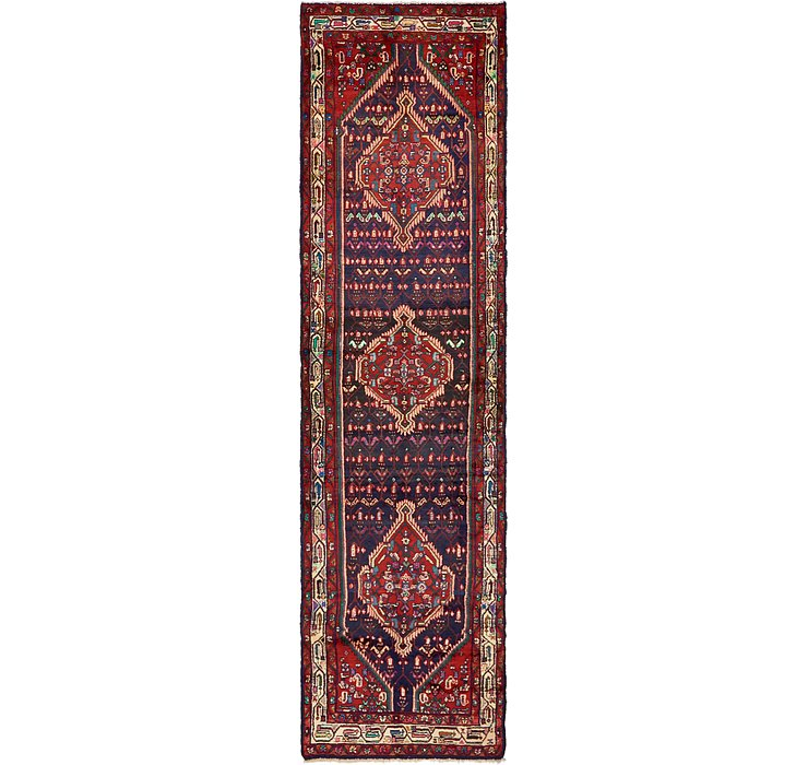 3' 7 x 13' 4 Darjazin Persian Runner...