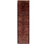 Link to 105cm x 422cm Hossainabad Persian Runner Rug
