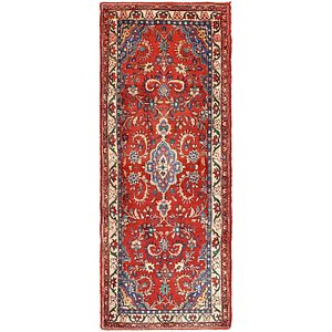 Unique Loom 3' 6 x 9' Hamedan Persian Runner ...