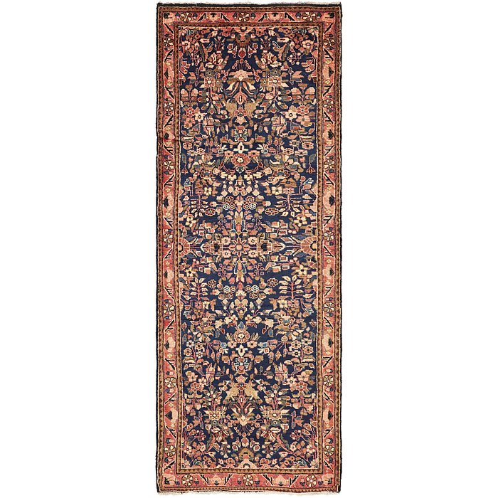 3' 9 x 10' 8 Borchelu Persian Runner...