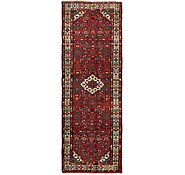Link to 3' 3 x 10' Hossainabad Persian Runner Rug