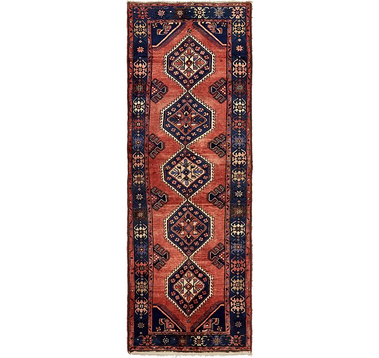 3' 7 x 10' 6 Borchelu Persian Runner...