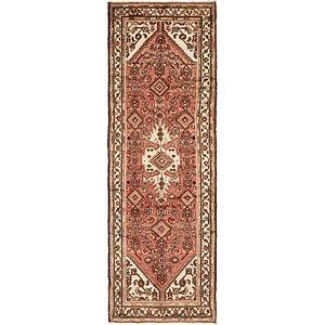 Unique Loom 3' 2 x 9' 6 Hossainabad Persian Run...