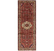 Link to 105cm x 297cm Hossainabad Persian Runner Rug