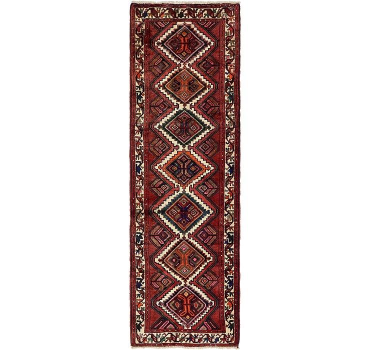 3' x 10' 2 Chenar Persian Runner Rug