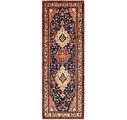 Link to 3' 5 x 9' 9 Khamseh Persian Runner Rug