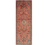 Link to 115cm x 340cm Hamedan Persian Runner Rug