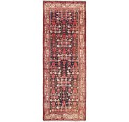 Link to 3' 6 x 9' 6 Hossainabad Persian Runner Rug