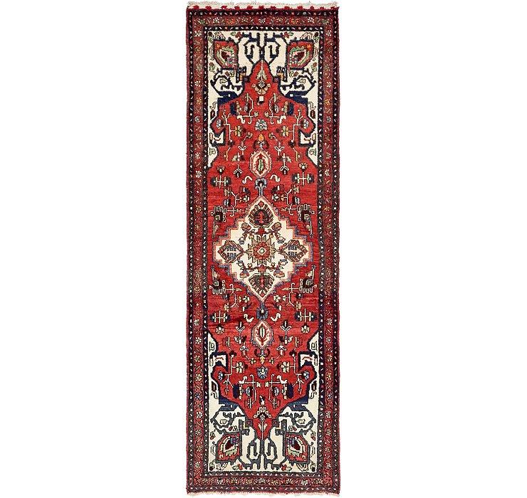 3' 3 x 10' 3 Hamedan Persian Runner ...