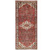 Link to 122cm x 280cm Hossainabad Persian Runner Rug
