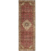 Link to 107cm x 335cm Hossainabad Persian Runner Rug