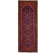 Link to 3' 8 x 9' 6 Hossainabad Persian Runner Rug