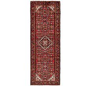 Link to 112cm x 302cm Hossainabad Persian Runner Rug