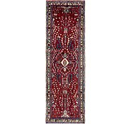 Link to 3' 4 x 10' Hamedan Persian Runner Rug