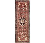 Link to 3' 4 x 9' 5 Hossainabad Persian Runner Rug
