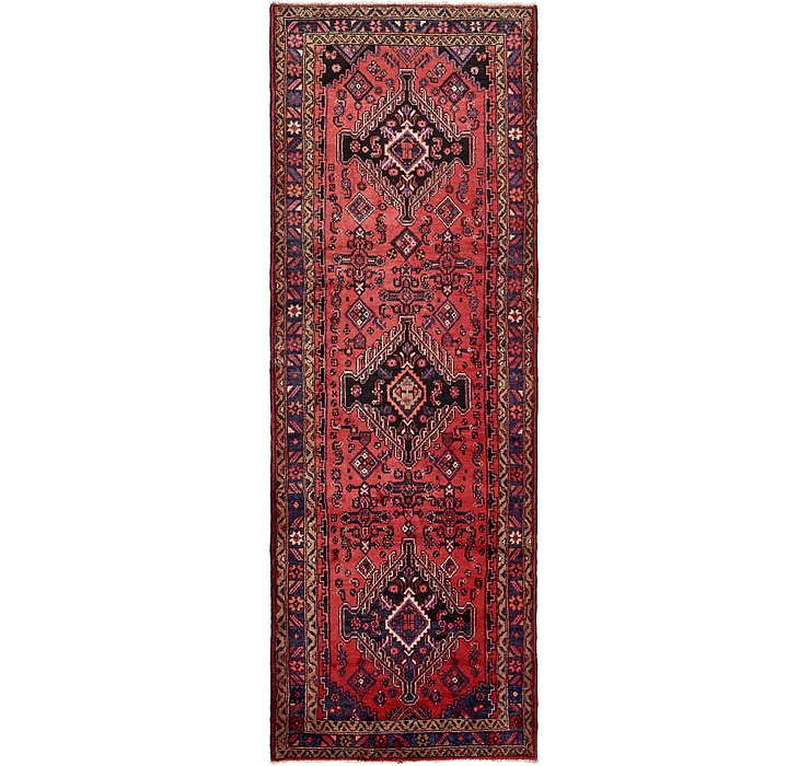 3' 7 x 10' 3 Mazlaghan Persian Runne...