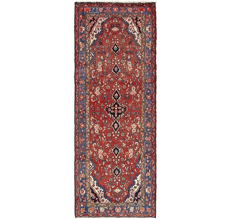 3' 9 x 10' Hamedan Persian Runner ...