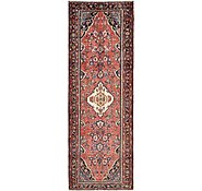 Link to 3' 9 x 10' 1 Hamedan Persian Runner Rug