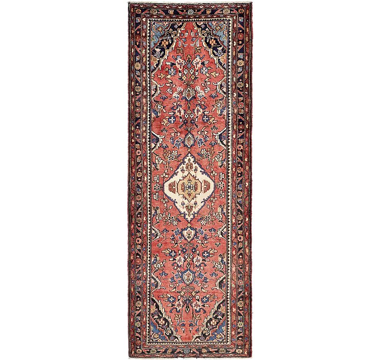 3' 9 x 10' 1 Hamedan Persian Runner ...
