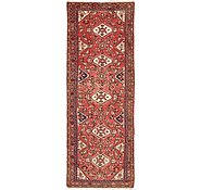 Link to 100cm x 287cm Hossainabad Persian Runner Rug