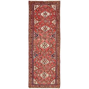 Unique Loom 3' 3 x 9' 5 Hossainabad Persian Run...
