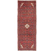 Link to 3' 8 x 10' 5 Hossainabad Persian Runner Rug