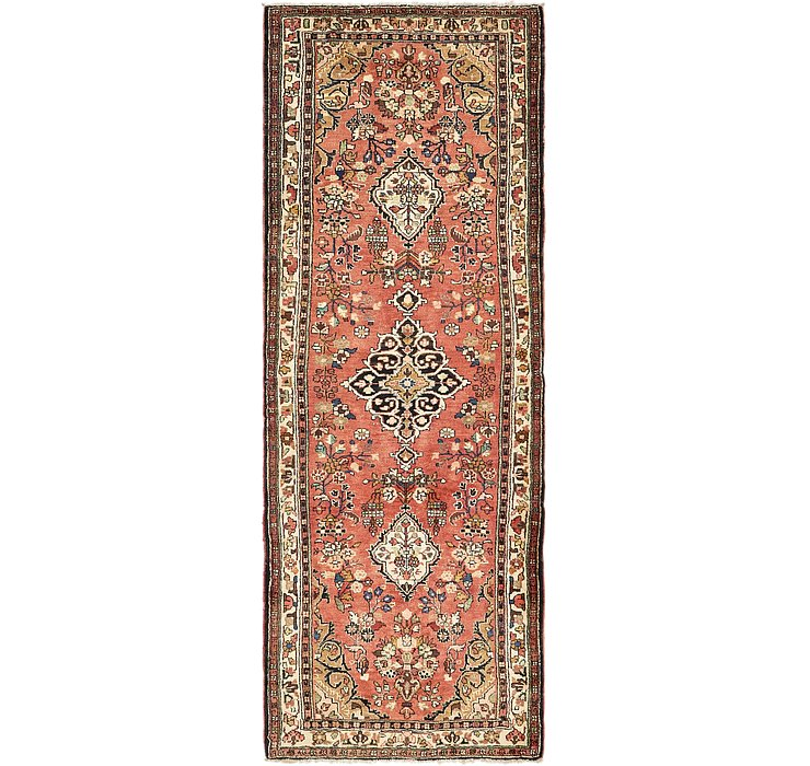 4' x 10' 5 Hamedan Persian Runner ...