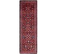 Link to 3' 7 x 11' 10 Hamedan Persian Runner Rug