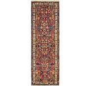 Link to 3' x 9' 6 Hamedan Persian Runner Rug