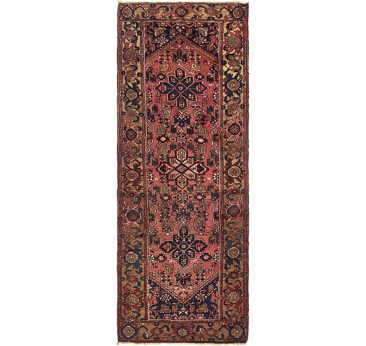 107cm x 287cm Zanjan Persian Runner Rug