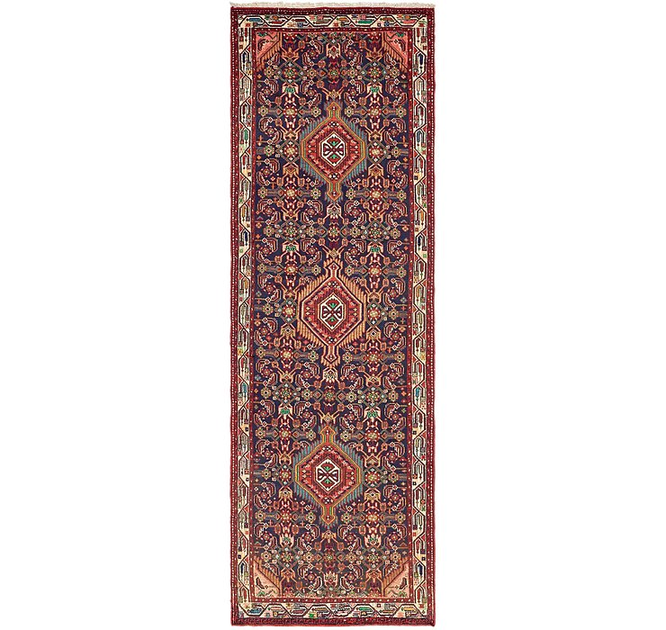 3' 2 x 10' 4 Darjazin Persian Runner...