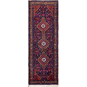 3' 8 x 11' Darjazin Persian Runner...