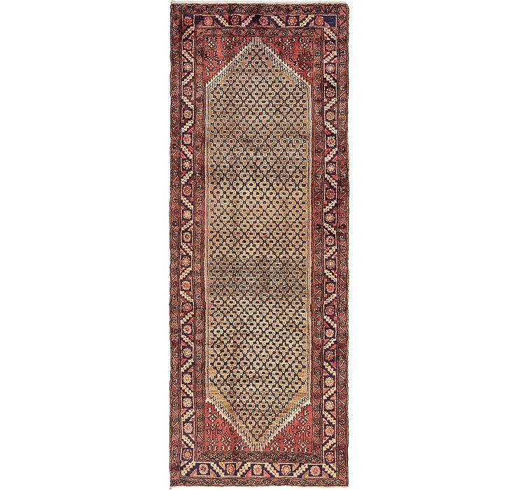 3' 8 x 9' 11 Koliaei Persian Runner ...