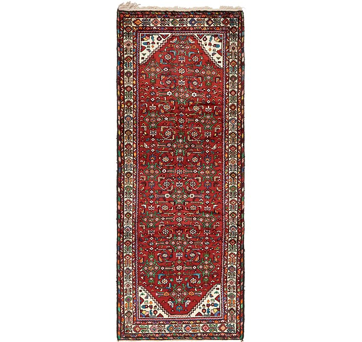 117cm x 312cm Hossainabad Persian Run...