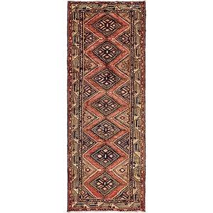 105cm x 282cm Chenar Persian Runner Rug