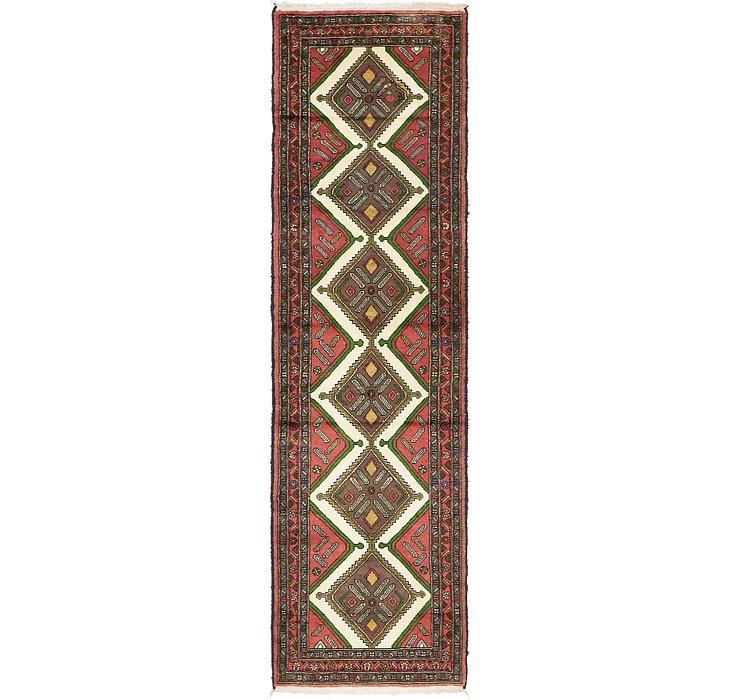90cm x 305cm Chenar Persian Runner Rug