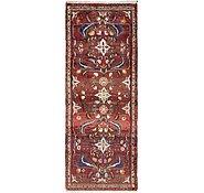 Link to 3' 7 x 9' 3 Hamedan Persian Runner Rug