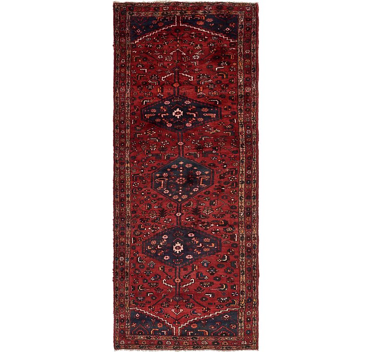 3' 5 x 10' Zanjan Persian Runner Rug