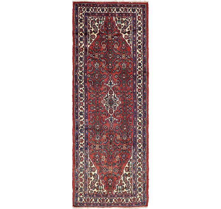 110cm x 275cm Hossainabad Persian Run...