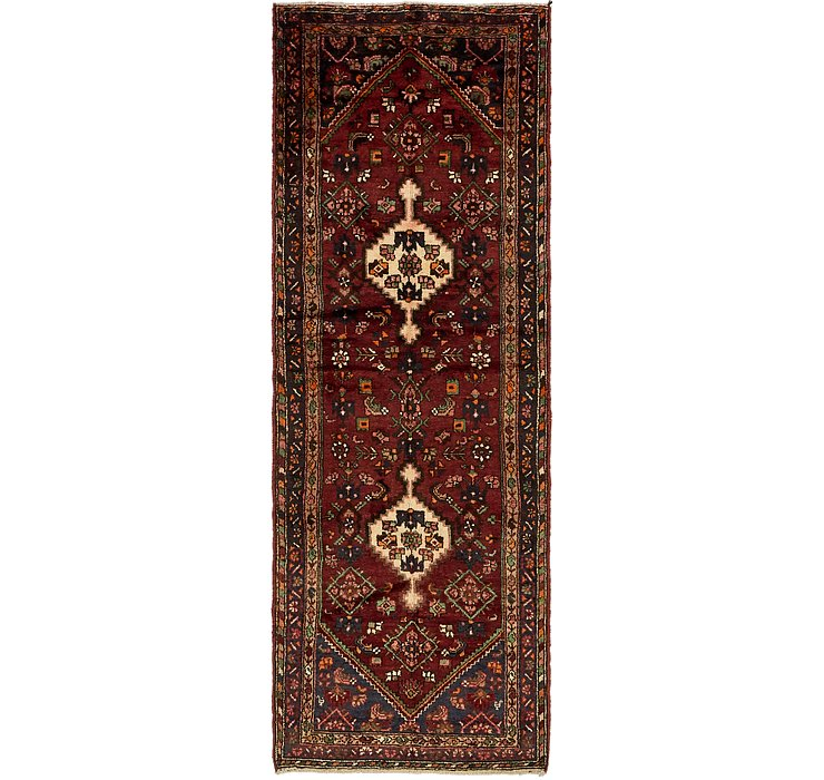 3' 7 x 10' 2 Hamedan Persian Runner ...