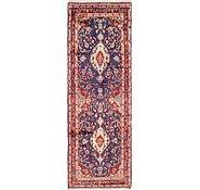 Link to 3' 3 x 9' 6 Hamedan Persian Runner Rug