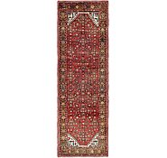 Link to 110cm x 328cm Hossainabad Persian Runner Rug