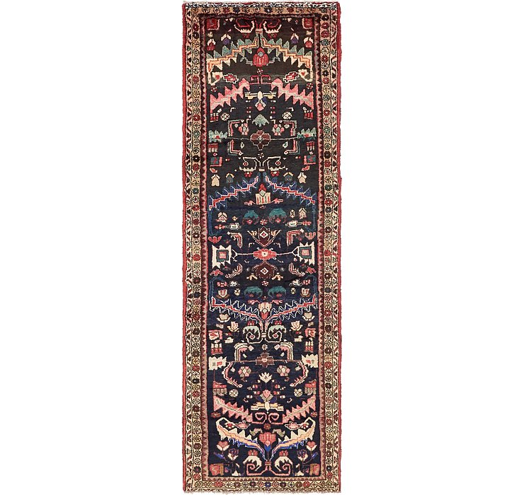3' 3 x 10' 4 Hamedan Persian Runner ...
