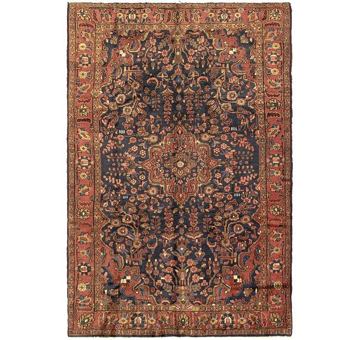 6' 9 x 10' 4 Hamedan Persian Rug