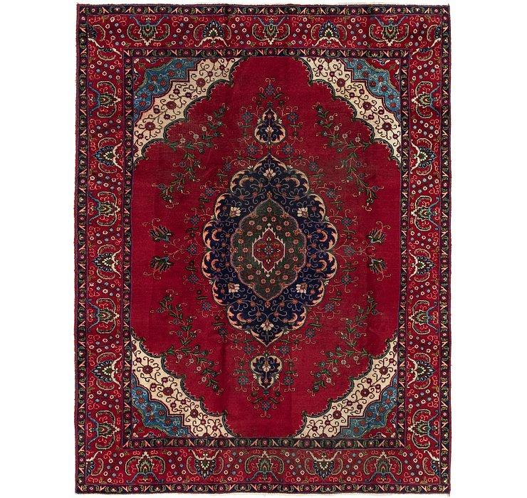 8' 2 x 11' 1 Tabriz Persian Rug