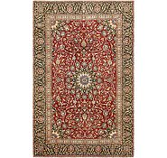 Link to 5' 10 x 9' Mashad Persian Rug