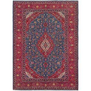 9' x 12' 9 Kashan Persian Rug